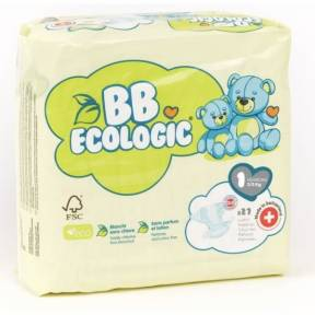BEBE ECOLOGIC - Couches  taille 1 - 27 couches